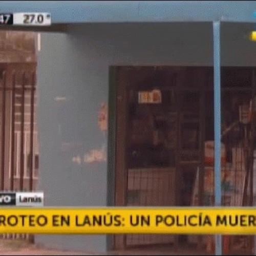 Acribillaron a dos policías en un intento de robo en Lanús