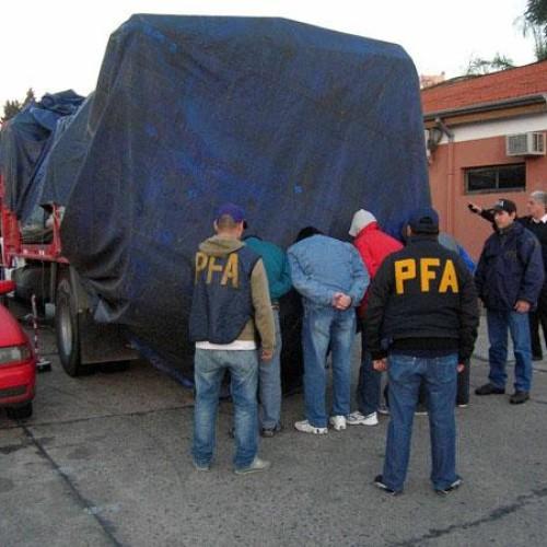 Aumentan los robos de piratas del asfalto a camiones con mercadería