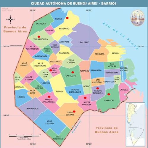 Áreas de Peligro Capital Federal