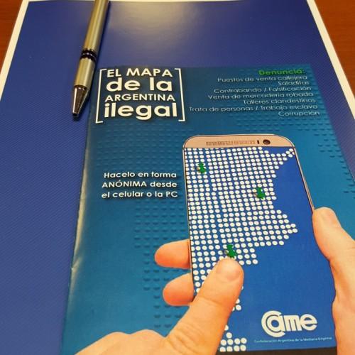 """Presentación de la APP """"El mapa de la Argentina Ilegal"""""""