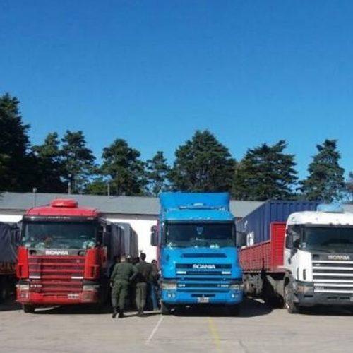 Los piratas del asfalto que robaban sus propios camiones